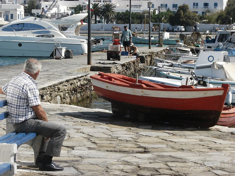 希臘愛琴海 美麗的插曲 - MoMo酱 - MoMo的流浪日记