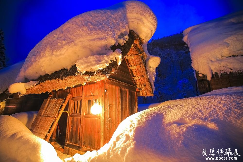 【青空境】冬天合掌村點燈*住合掌造民宿之旅