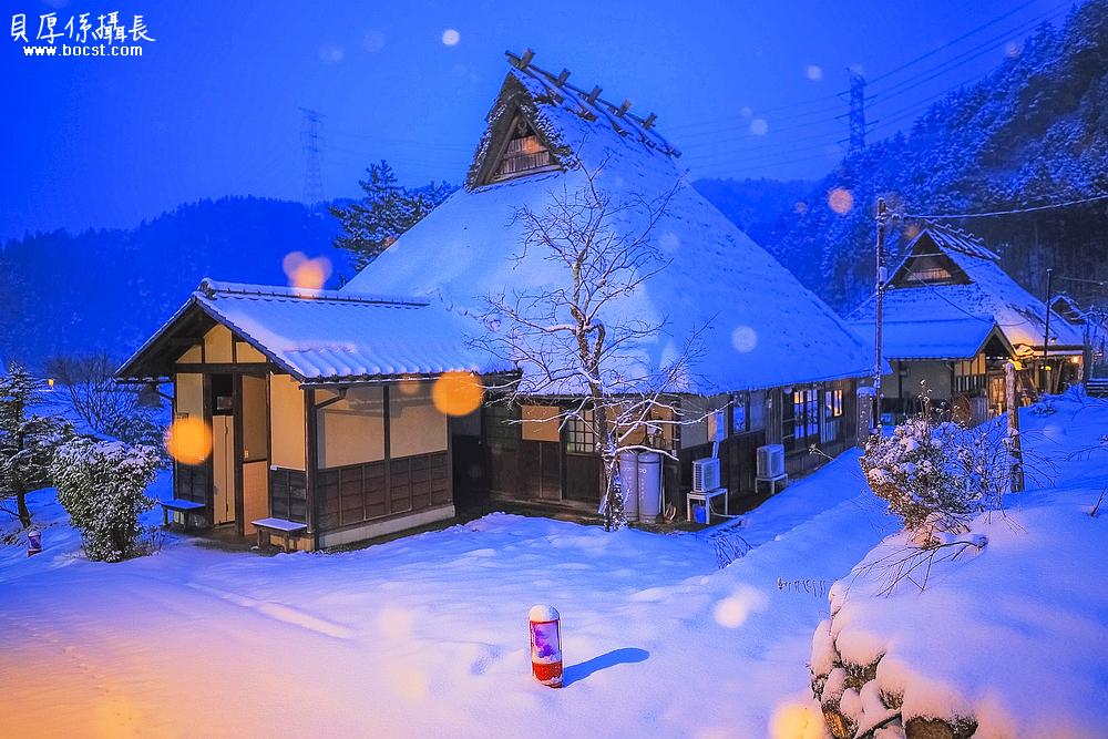 【夜狂想】冬天合掌村點燈*住合掌造民宿之旅